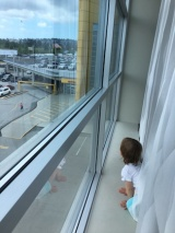 Our day trip to IKEA - the girls loved testing out the showrooms!