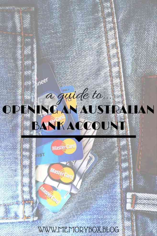 OPEN A BANK ACCOUNT IN AUSTRALIA